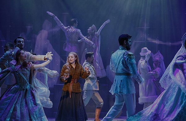 Promo photo of Anastasia on Broadway Choreography by Peggy Hickey
